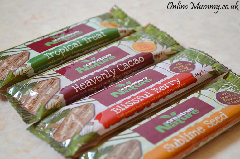 Creative nature superfood bars review online mummy for Superfood bar